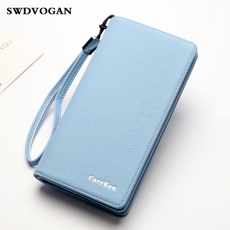 Female <font><b>Purse</b></font> Women Clutch Bag Wallet Case for iPhone 7 Pluse 5.5 Inch <font><b>Smartphone</b></font> Pocket PU Leather Ladies <font><b>Purse</b></font> Wallet for Cards