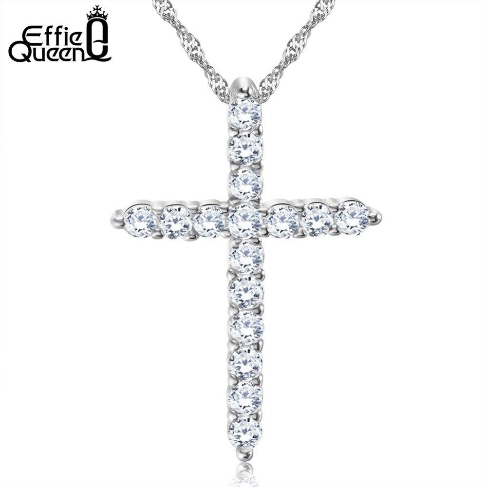 Effie Queen Cross Pendant...