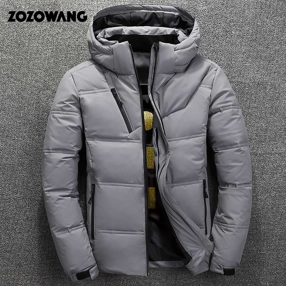 Image 2 - ZOZOWANG High Quality White Duck Thick Down Jacket men coat Snow parkas male Warm Brand Clothing winter Down Jacket Outerwear-in Parkas from Men's Clothing