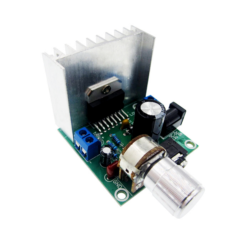 1pcs tda7297 amplifier board digital amplifier board dual-channel amplifier board finished no noise 12V dual 15W (A type) tda7297