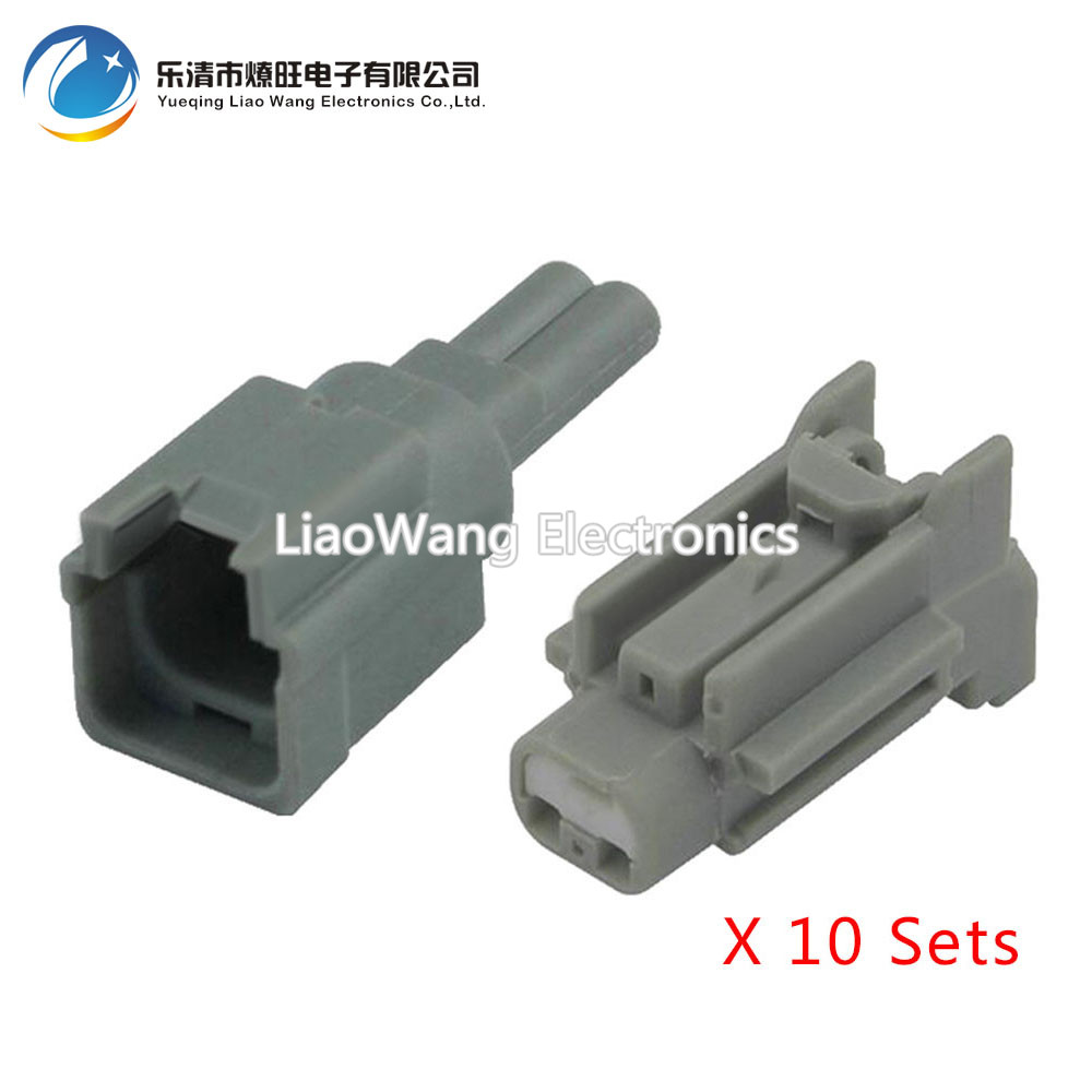 10pcs Kit 2 Pin Female And Male Auto Wiring Harness Connector Plug Socket Dj7029c1: Auto Wiring Harness Kits At Jornalmilenio.com