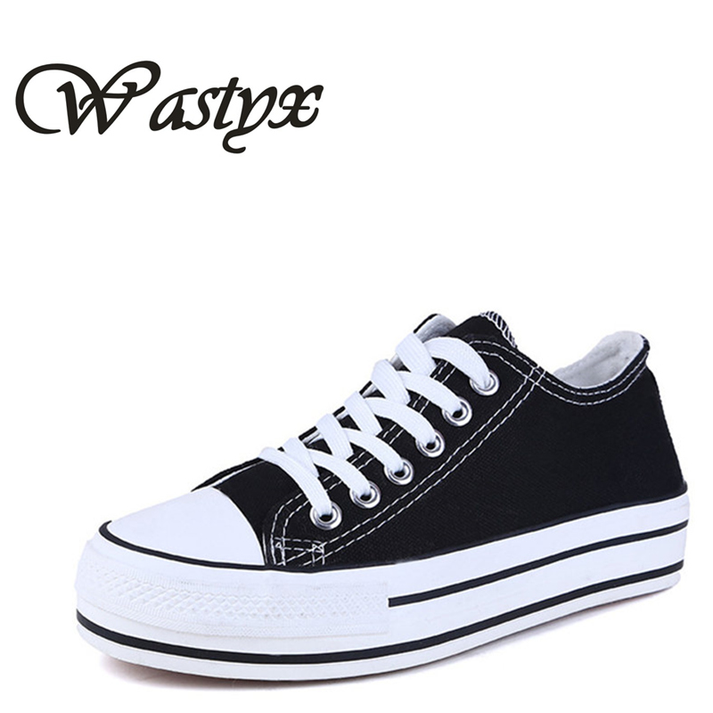new Thick soled Canvas shoes women flat platform ladies casual shoes white fashion lace up footwear breathable zapatos mujer women harajuku cartoon lace up wedges platform shoes 2015 casual shoes trifle thick soled graffiti flat shoes ladies creepers