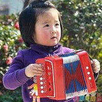 11.11 Órgão Brinquedos ABS Plástico Do Bebê Instrumento Musical Brinquedo Música de Acordeão Criança Presente de Aniversário Para Crianças