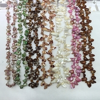 Teeth Shape Plating Spots Or Fringe Color Choker Style Necklace Real Freshwater Cultured Pearl And Very