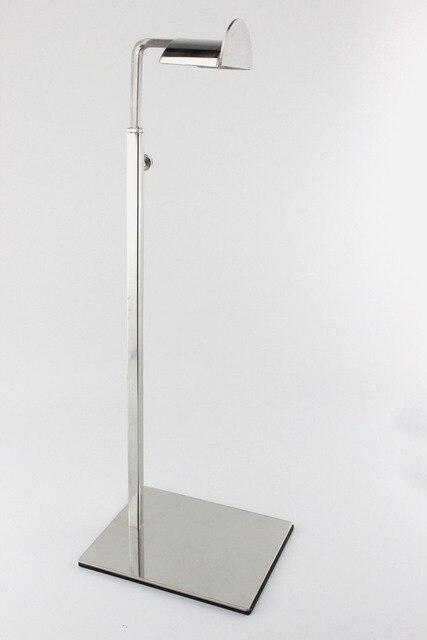 10 pcs  Free Shipping Adjustable Stainless Steel Metal Handbag holder display Stand Women Bag Showing Display Holder Rack