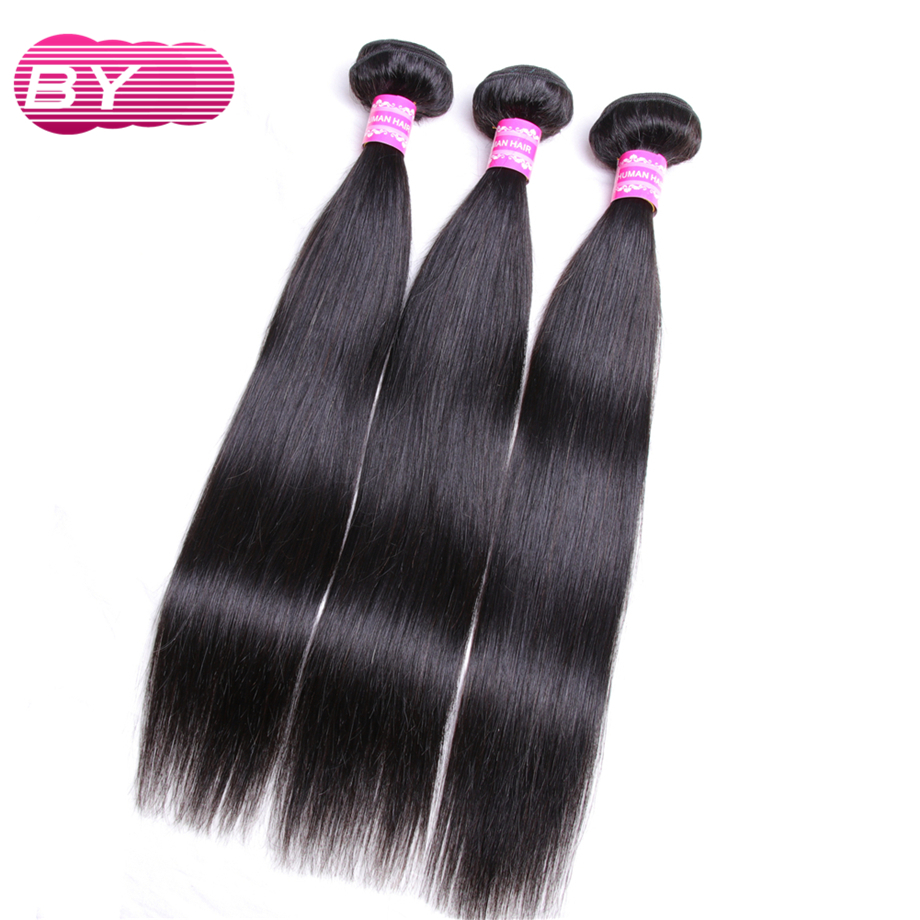 BY Peruvian Straight Non Remy Human Hair Bundle Pre bleached For Hair Salon Super Low Ratio