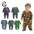 0-12 M Velo Do Bebê Rompers Baby Girl Boy Vestuário Infantil Do Bebê Meninas Roupas Macacões Pagado Macacão Outono