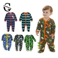 0-12M Fleece Baby Rompers Baby Girl Boy Clothing Infant Baby Girls Clothes Jumpsuits Footed Coverall Autumn