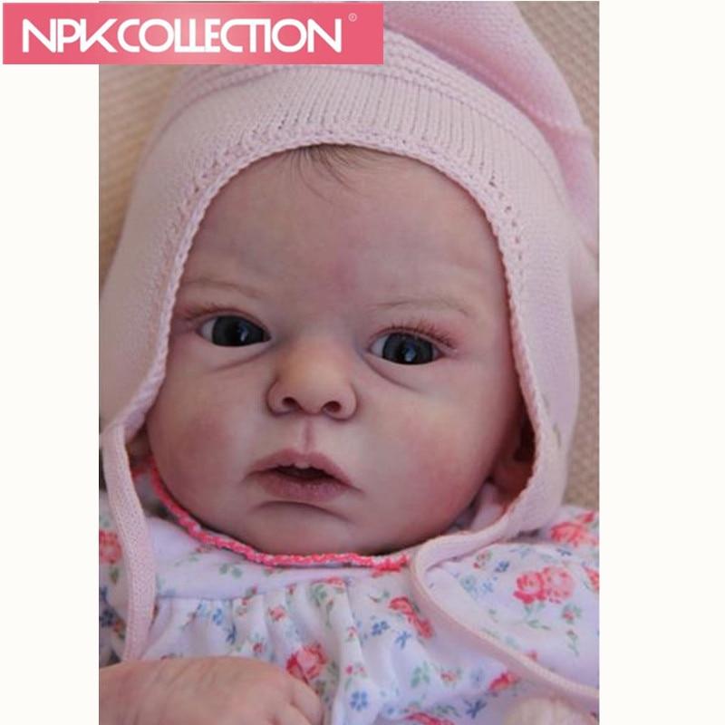 Новые стили 20-дюймовый Reborn Baby Doll Наборы качество Реалистичного Reborn Baby Doll Наборы для детей как рождественский подарок DIY игрушки