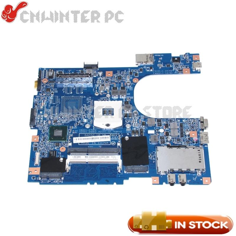 NOKOTION For Acer travelmate 8573 8573T Laptop Motherboard HM65 GMA HD3000 DDR3 MBV4E01002 48.4NM01.01M