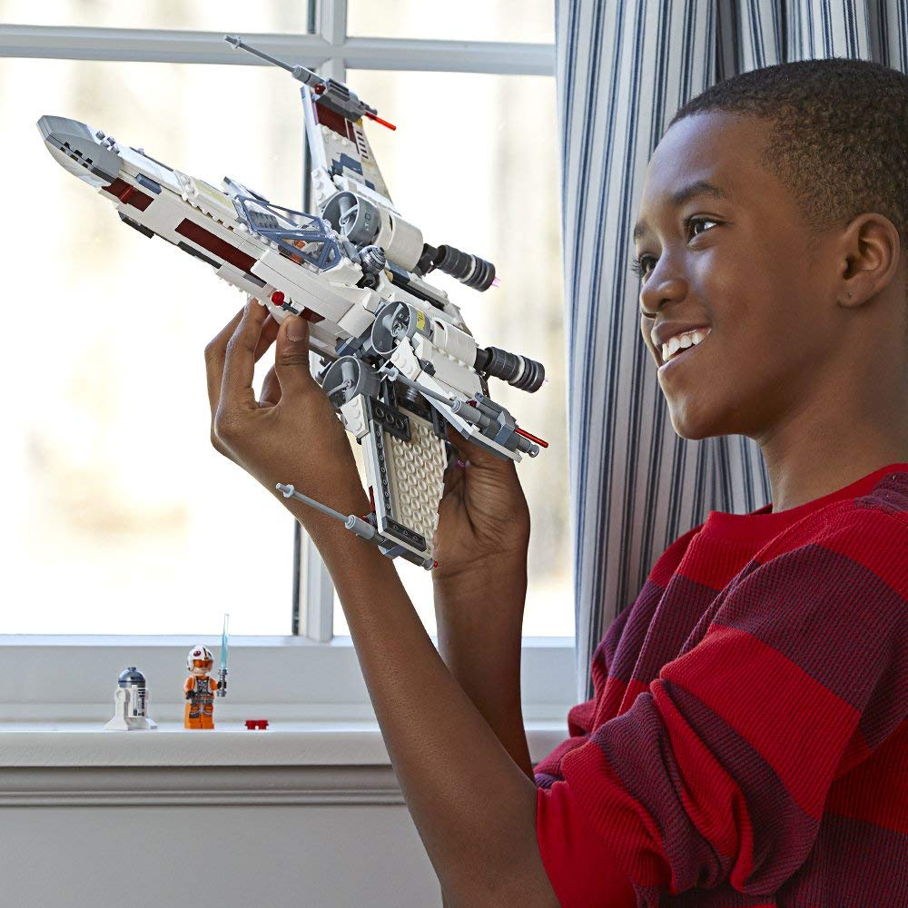 Star Space Wars X-Wing Starfighter White Building Blocks Toys for Children Gifts Compatible with Legoings Star Space Wars X-Wing Starfighter White Building Blocks Toys for Children Gifts Compatible with Legoings