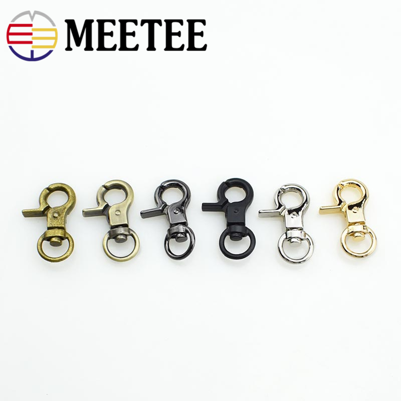 10p 14X36mm Lobster Clasps Swivel Trigger Clips Snap Hooks Bag Key Ring Findings