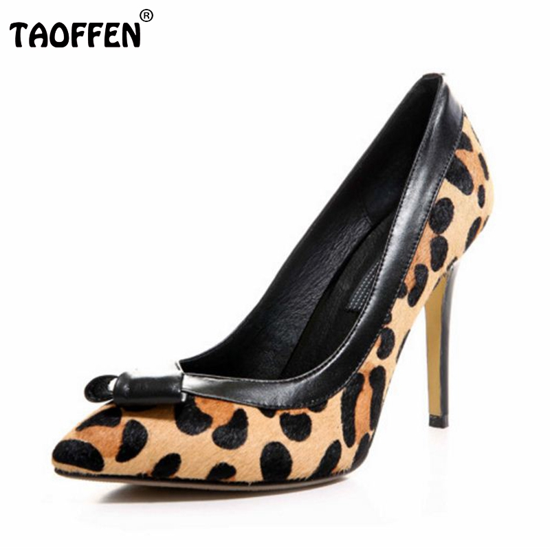women pointed toe real bowknot genuine leather high heel shoes women sexy pumps fashion footwear brand shoes size 34-39 R08717 size 33 43 r08323 ladies pointed toe real genuine leather flat shoes women bowknot sexy spring fashion footwear brand shoes