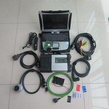Супер mb star c5 с программным обеспечением,12 новейший hdd установлен в cf19 сенсорный экран ноутбук полный набор диагностики готов к использованию