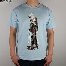 CLASSIC killer GAME ASSASIN CREED T shirt cotton Lycra top new arrival Fashion Brand t shirt