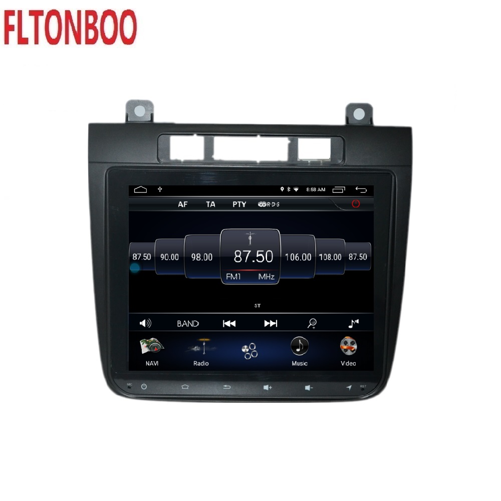 8 4 inch android 9 car DVD gps navigation for VW Volkswagen TOUAREG 2011 15 radio