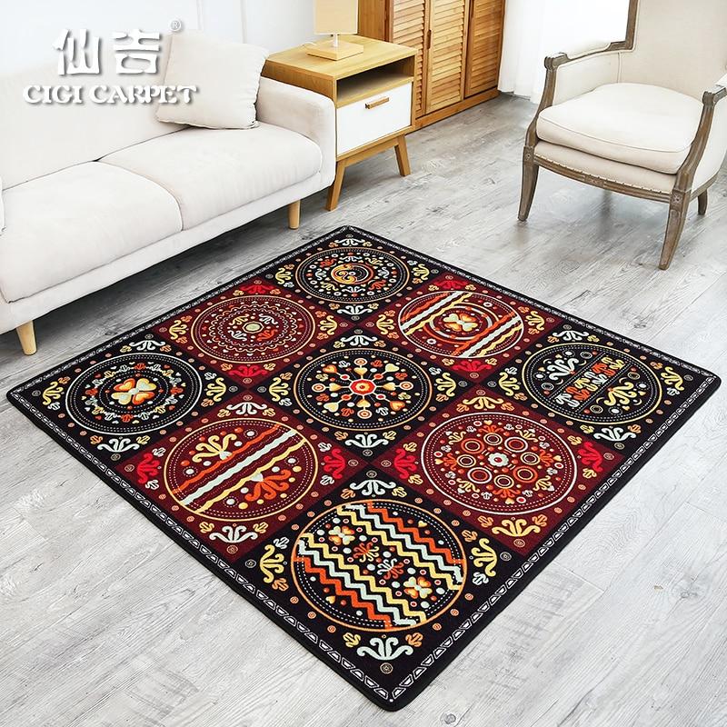 CIGI Fashion Classic Home Carpet Entrance Hallway Living Room Bedroom Study Floor Mat Anti Skid