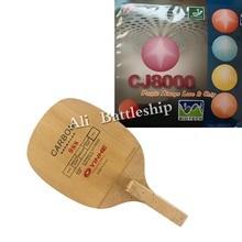 Оригинальная профессиональная ракетка для настольного тенниса Galaxy Yinhe 988 с Palio CJ8000 BIOTECH 2-Side Loop type H36-38, японская ручка JS
