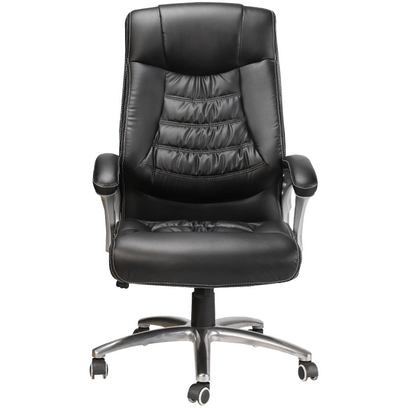 Soft Thicken Comfortable Boss Chair Reclining Swivel Chair Lift Rotation Computer Chair with Footrest Household Steady Safety