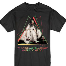Billie-Eilish Wanneer We Alle In Slaap Vallen Pop Muziek Verlichting T-shirt Mannen 2018 Merk Kleding Tees Casual Top Tee plus Size T-shirt(China)