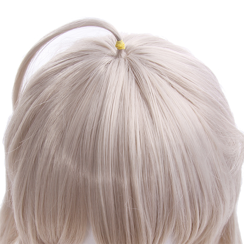 Image 5 - L email wig Fate/Grand Order Jeanne d'Arc Ruler Cosplay Wigs 95cm Long Heat Resistant Synthetic Hair Perucas Cosplay Wig-in Synthetic None-Lace  Wigs from Hair Extensions & Wigs