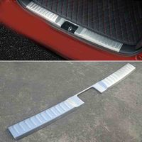 For Suzuki Vitara 2015 2016 Stainless Steel Inner Rear Bumper Protector Sill Car Accessories Trunk Car Accessories Car Styling