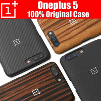 Oneplus 5 Case Original 100 From Oneplus Company Sandstone Black Rosewood Ebony Wood Karbon Back Cover