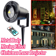 New Year Christmas Star Lights Laser Showers Projector Outdoor Decoration For Home Red Green Laser Move Twinkle Waterproof IP44