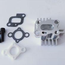 Baja CNC Billet Intake Manifold for engine zenoah cy for hpi km rovan Baja 5b 5T / Losi 5ive-T
