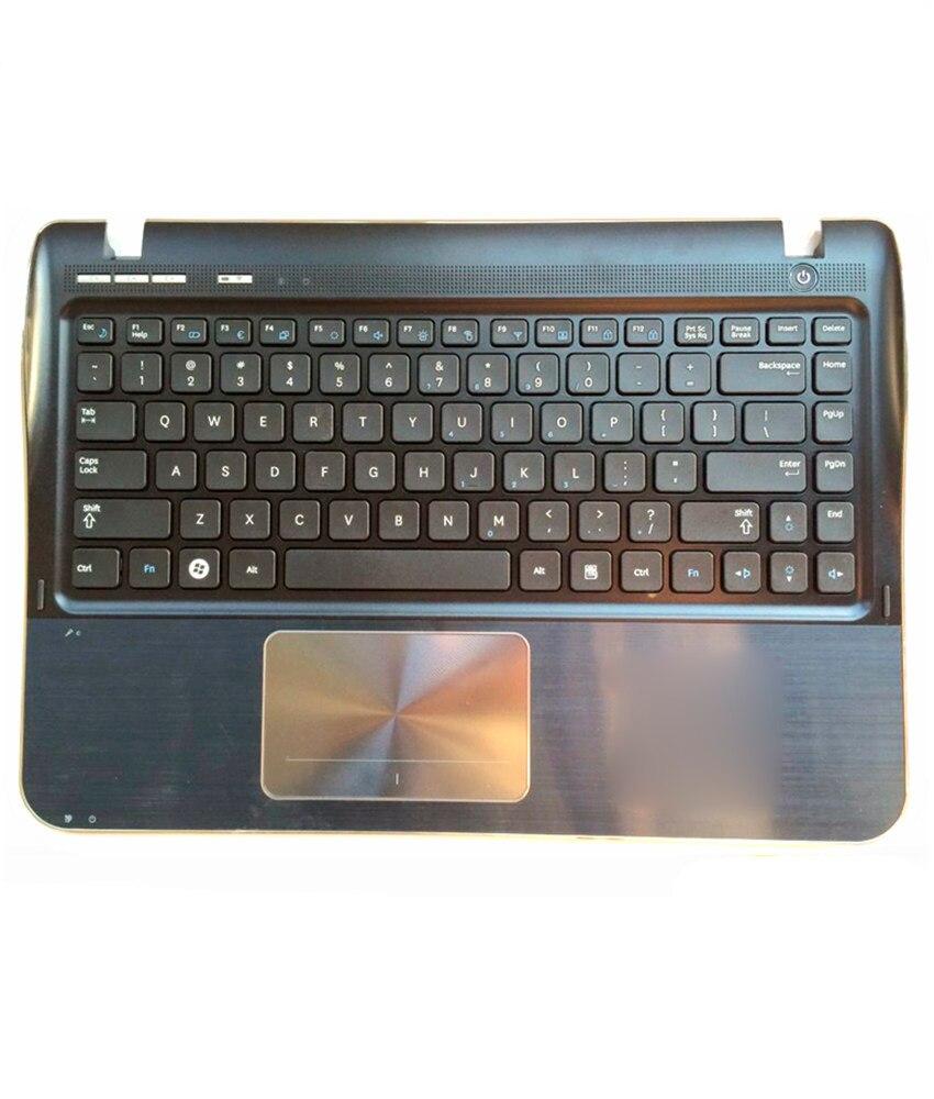 Pour Samsung SF311 SF310 clavier d'ordinateur portable avec haut-parleur de coque C/avec pavé tactile souris/repose-main