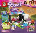SY835 Friends Pleasure Ground Amusement Machine Building Block  Compatible with Lepin Brick Toy Christmas Gifts