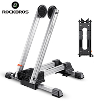 ROCKBROS Bicycle Racks Aluminum Bike Repair Stand Mountain Bicycle Racks Portable Display Stand L Type Parking