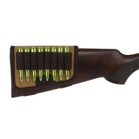 Tourbon Tactical Hunting Shooting Rifle Gun Buttstock Cheek Rest 10 Round Cartridges Holder Canvas Gun Accessories