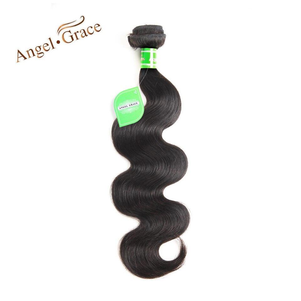 Ангел благодати волос Малайзии объемной волны 100% человеческих волос, плетение Связки Natural Цвет Реми волос 10-28 дюймов доступны Бесплатная до...