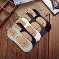 10 unidades = 5 pares de los nuevos hombres del Algodón invisible calcetines calcetines de los hombres de silicona antideslizante, puro color summer calcetines