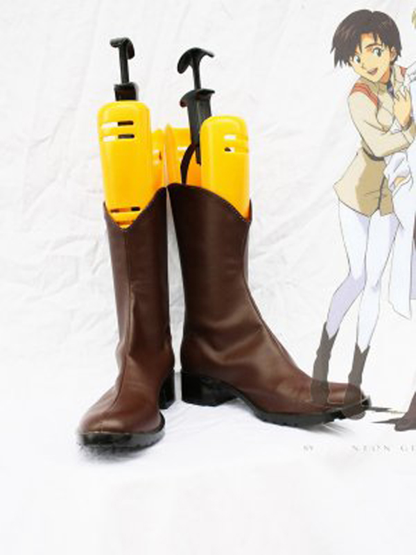 Neon Genesis Evangelion Maya Ibuki Cosplay Boots Shoes Women Cosplay Costume Party Shoes Custom Made Boots