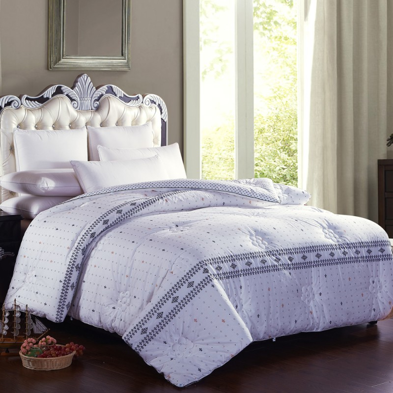 fashion simple autumn and winter warm quilt fill pure cotton three colors comforter twin queen. Black Bedroom Furniture Sets. Home Design Ideas