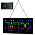 Tattoo Shop TATTOO PIERCING LED Body Ear Lip Eyebrow LED Neon Light Sign Home Decor Crafts Tattoo Accesories