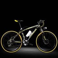 Lankeleisi электрический велосипед 26 дюймов 36/48 В Алюминий литиевого сплава Электрический велосипед горный велосипед для взрослых