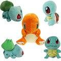 8 Styles Pocket Pet Plush Toys 15cm Go Pikachu Bulbasaur Squirtle Charmander Gengar Dragonite Gift Soft Plush Toys Cartoon Anime