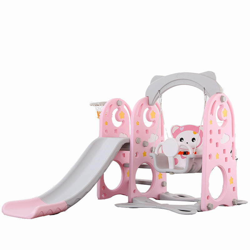 Multi-function Three-in-one Slide Toy 1-8 Years Old Children Slide Slide Swing Indoor Home Baby Small Combination Set
