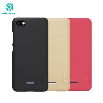 Xiaomi Redmi 6A Case Nillkin Frosted Shield PC Back Cover Case For Xiaomi Redmi 6A 5.45 inch Gift Phone Holder