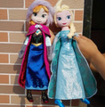 40cm Elsa Anna Plush Doll Toddler Soft Toys Queen Princess Olaf Elsa Anna Dolls Filling Plush Toy Collect Doll Peluche Boneca