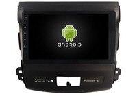 Elanmey Топ оснащен 8 ядром + 64G rom android 8,1 автомобильный радиоприемник для Mitsubishi Outlander 2006 2012/peugeot 4007/Citroen C Crosser gps