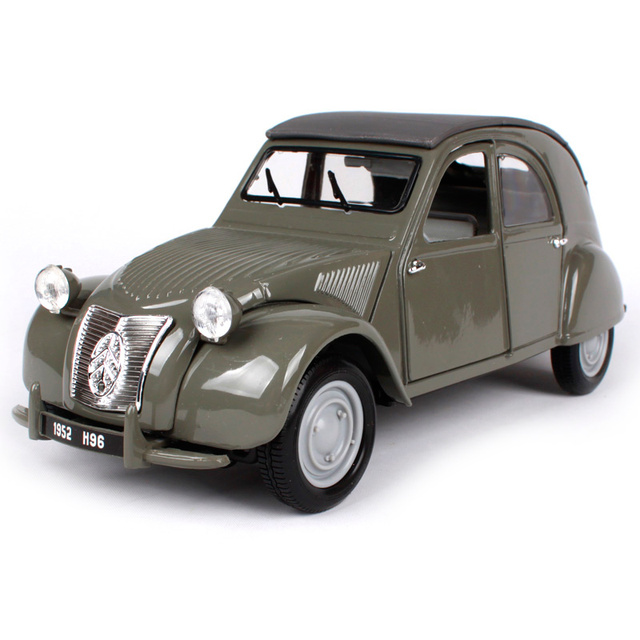 maisto 1 18 1952 citroen 2cv retro classic car diecast. Black Bedroom Furniture Sets. Home Design Ideas