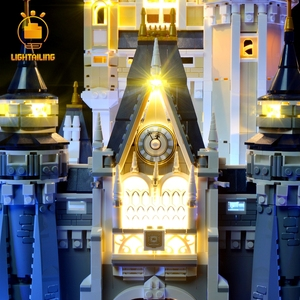 Image 3 - LIGHTAILING LED Light Kit For Creative Series Cinderella Princess Castle Model Lighting Set Compatible With 71040 16008