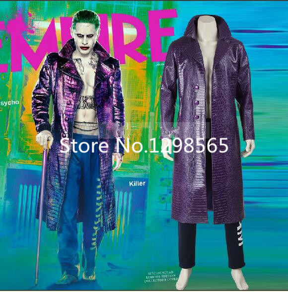 Harley Quinn Suicide Squad cosplay costume custom made suits Halloween costumes for adult Suicide S jacket Suicide Squad costume