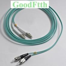 Fiber Patch Cords Jumpers FC LC LC FC OM3 Duplex GoodFtth 1 15m