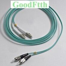 Z włókna kable krosowe swetry FC LC LC FC OM3 Duplex GoodFtth 1 15m