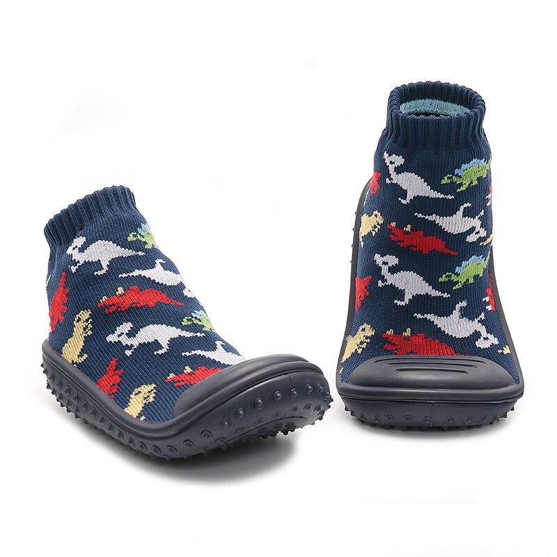 ca636ddc8 Calcetines antideslizantes de suelo para bebé niño antideslizante calcetines  de bebé con suelas de goma para niños niñas recién nacidos primavera